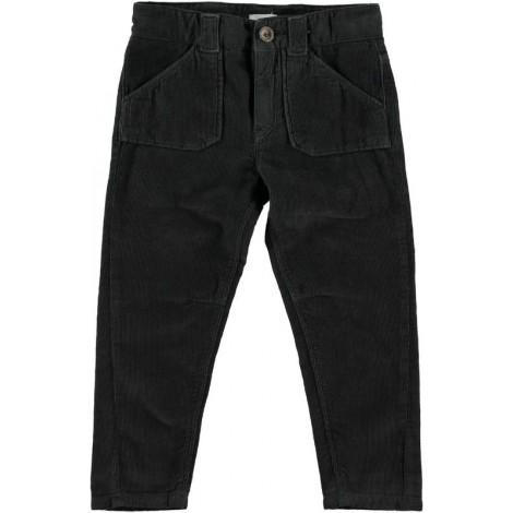 Pantalón pana niño antracite CAMERON - Búho