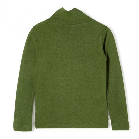 Camiseta cuello alto TOUCH OF verde - Nice Things