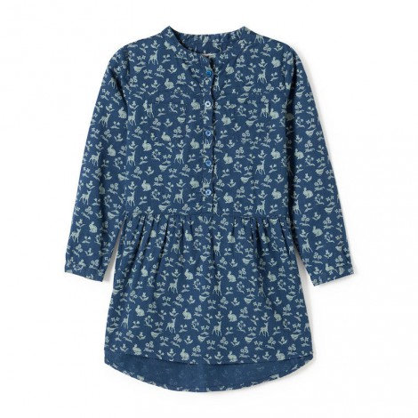 Vestido WILD LIFE azul noche - Nice Things