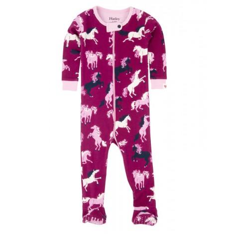 Pijama bebé entero pie antideslizante caballo  - HATLEY