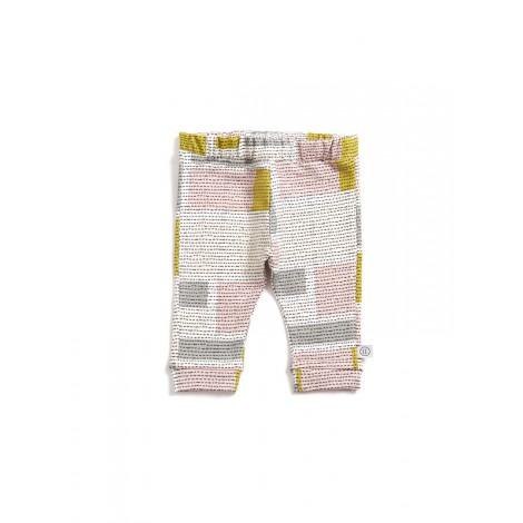 Pantalón bebé y infantil QUILT cuadrados  - LLANA
