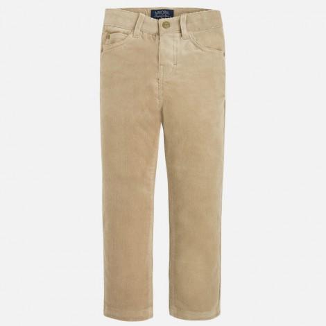 Pantalon pana 5b basico en Camel - Mayoral