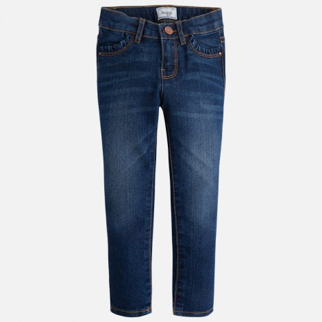 pantalon pitillo tejano basic en oscuro mayoral