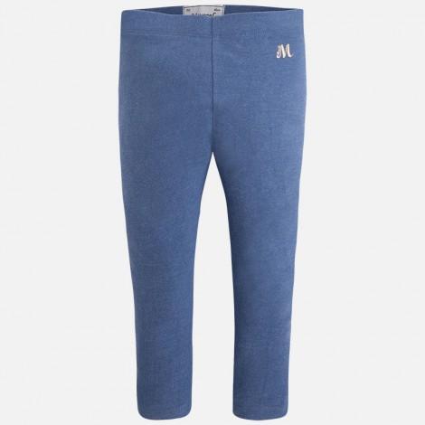 leggings punto elastan basico en azulado vi mayoral