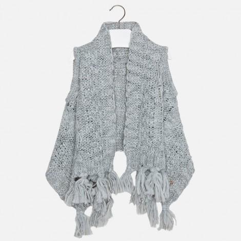 Chaleco tricot picos en Gris claro - Mayoral