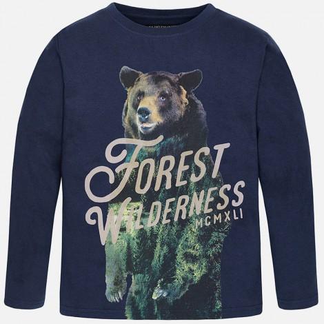 Camiseta m/l forest en Azul sport - Mayoral