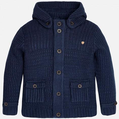 Cardigan tricot en Azul - Mayoral