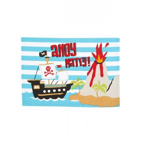 Mantel individual plastificado barco pirata de Hatley