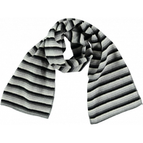 Pañuelo foulard a rayas MIREIA gris - 1+in the Family