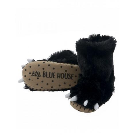 Bota peluda ir por casa - garra de oso negro - Hatley