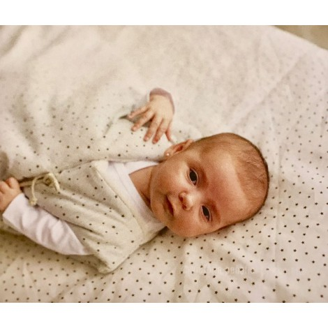 Saco de dormir polar para bebe sin mangas de Babyshower