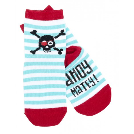 Calcetín infantil PIRATA antideslizante - animal socks