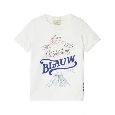 Camiseta niño HEROES manga corta blanca