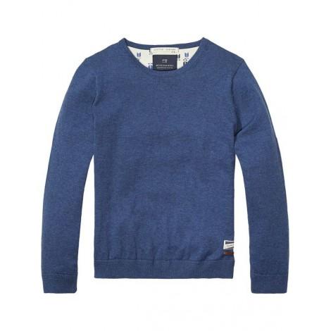 Jersey pullover Cotton-Cashmere azul vigoré