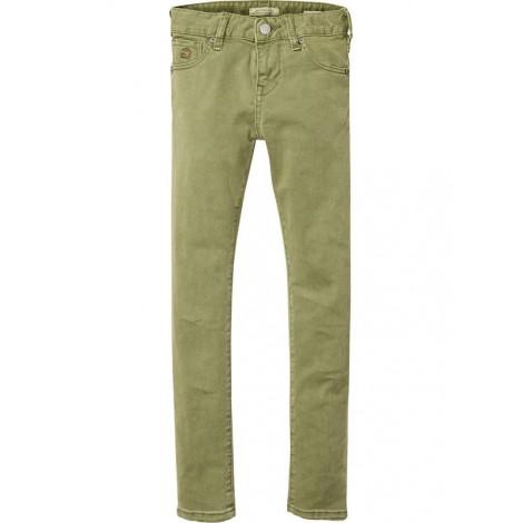 Pantalón niño STRUMMER slim fit jeans en verde militar