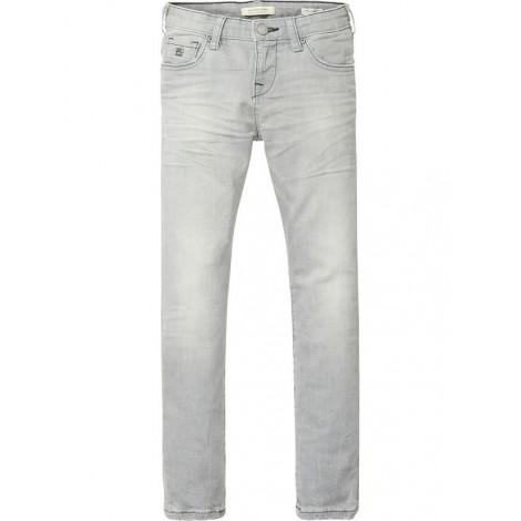 Pantalón niño gris lavado STRUMMER slim fit jeans