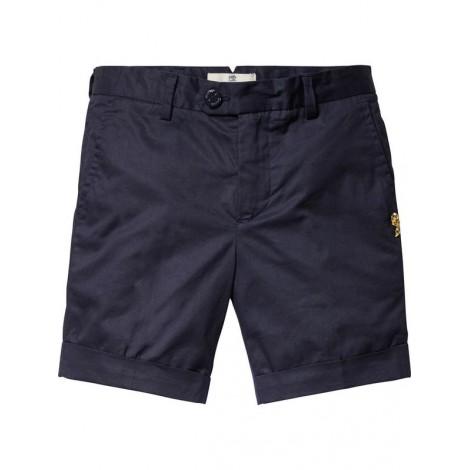 Pantalón short de vestir en navy