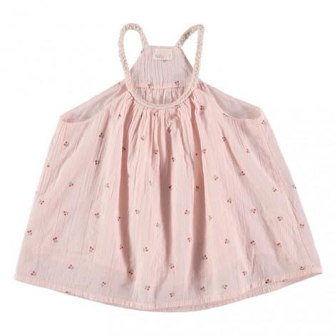Camiseta niña top tirantes KYLIE rosa palo
