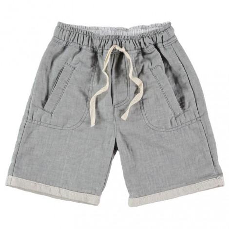 Pantalón bermuda niño HUGO VIGO gris