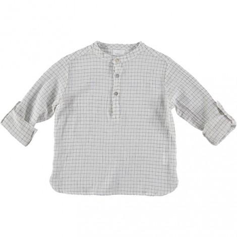 Camisa mao crudo niño PAUL CHECK cuadradillos