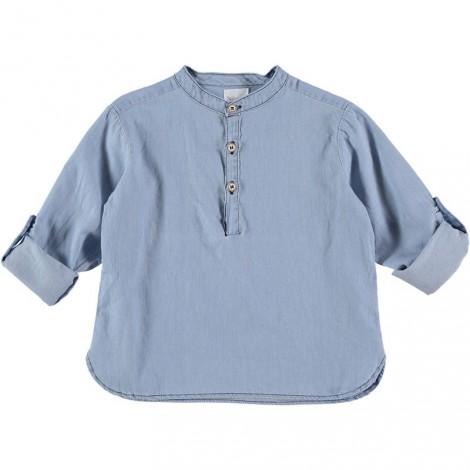 Camisa niña algodón PAUL DENIM vintage