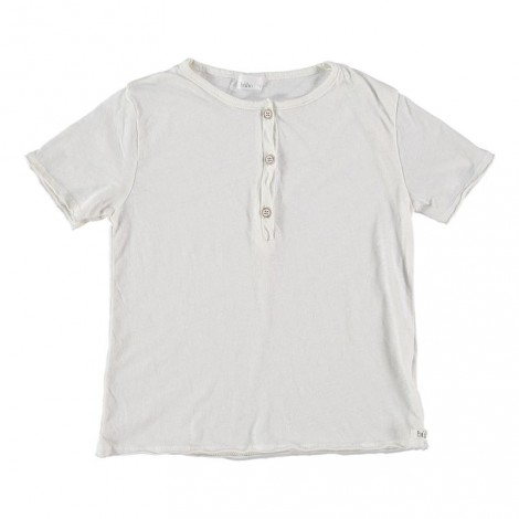 Camiseta infantil algodón LOÏC color crudo