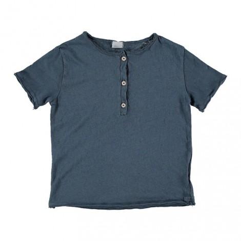Camiseta infantil algodón LOÏC color ocean