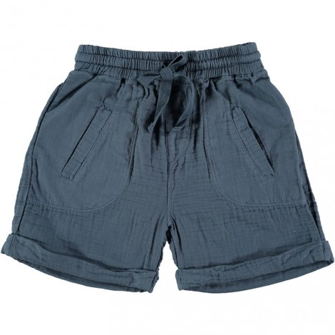 Pantalón bermuda infantil HUGO color ocean
