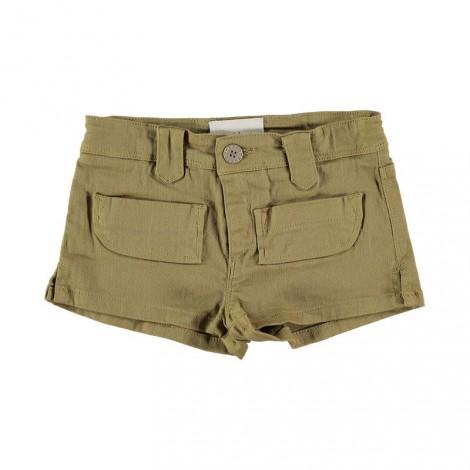 Pantalón short niña BEA color olive