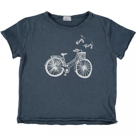 "Camiseta infantil CESAR ""BIKE"" color ocean"