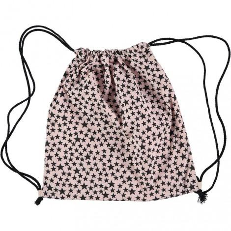 Bolsa mochila de playa SWIM BAG STARS rosa palo