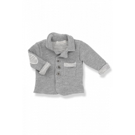 Chaqueta bebé coderas ERNEST algodón gris