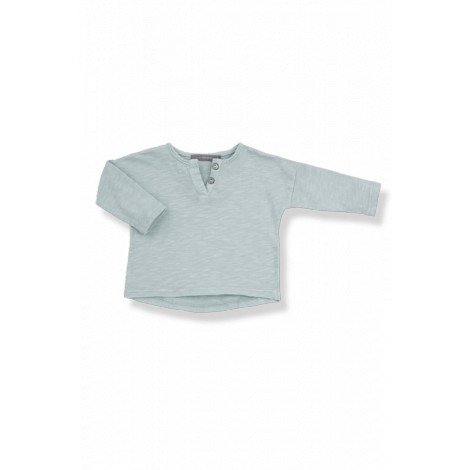 Camiseta bebé botones m/l FILIPPO vigoré agua