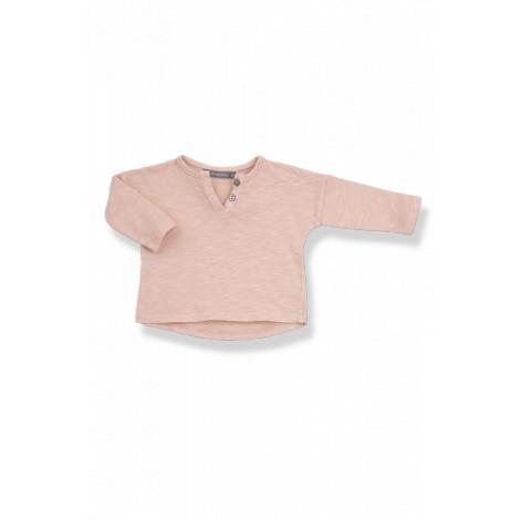 Camiseta bebé botones m/l FILIPPO vigoré ibiscus