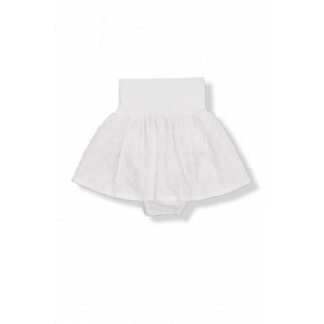 falda bebé bordado plummeti nora blanca
