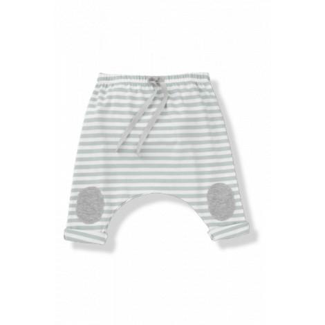 Pantalón bebé ancho rodillera SAMMY rayas agua