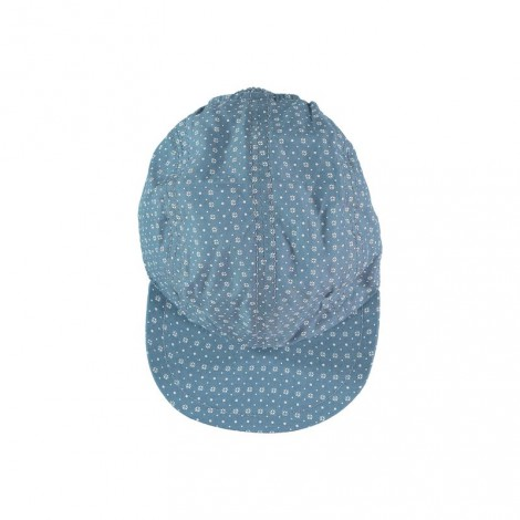 GORRA de bebé Azul geométrico