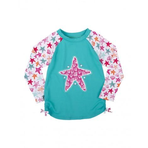 Camiseta de agua niña LYCRA M/L STAR FISH