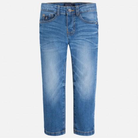 pantalón vaquero de niño regular fit color básico