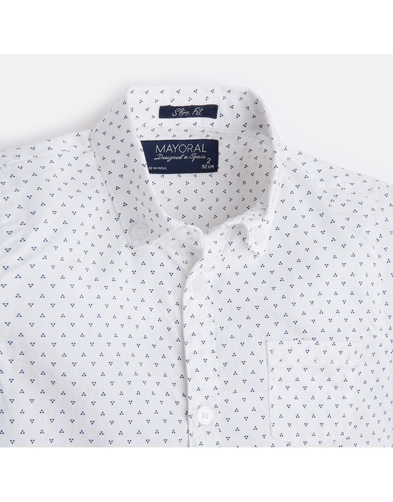 dfd0cfdeb ... camisa niño m l estampada slim fit color blanco