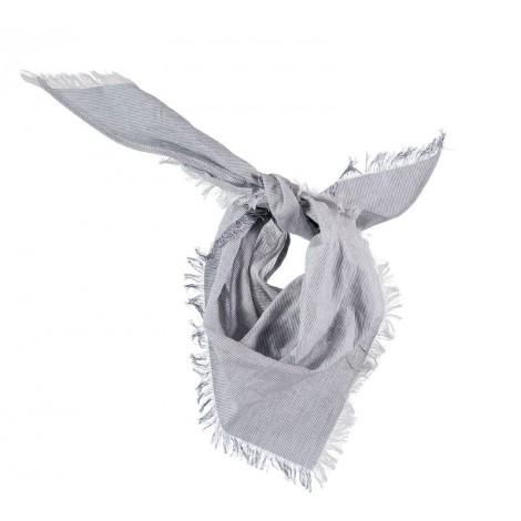 Pañuelo foulard bebé SALVABABAS MILRAYAS azul