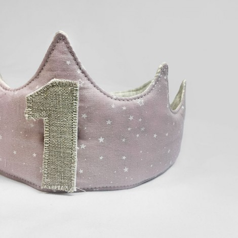 Corona cumpleaños MALVA STARS