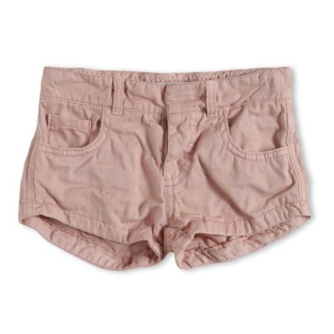 Pantalón short niña Hannah rosa suave