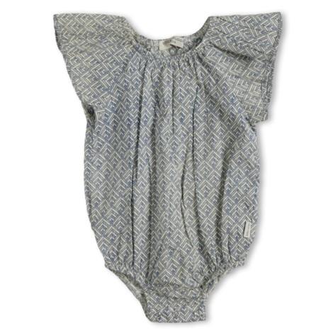 Body bebé Rachel tipo camisa para niña