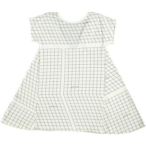 Vestido niña TRIANGLE DRESS MAP COORDINATES cuadrillero
