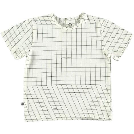 Camiseta infantil M/C MAP COORDINATES blanca con mapa