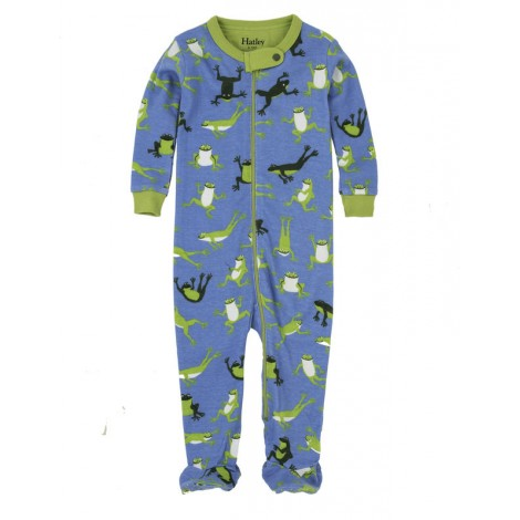 Pijama niño entero con pie HOPPING FROGS m/l azul
