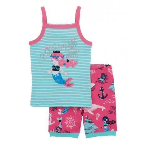 Pijama niña tirantes 2 piezas MERMAID sirenas algodón