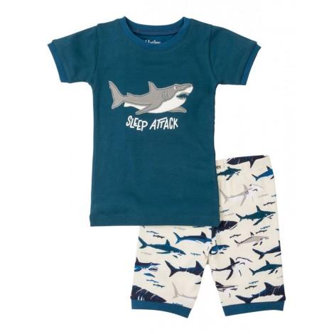 Pijama niño 2 piezas M/C TOOTHY SHARKS algodón
