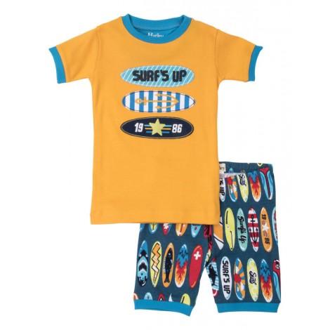 Pijama niño 2 piezas M/C TABLAS SURF algodón